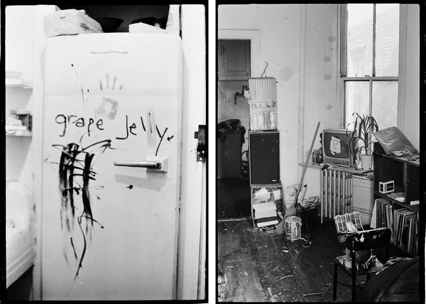 Refrigerator in the apartment, c. 1979–1980, The apartment, c. 1979–1980