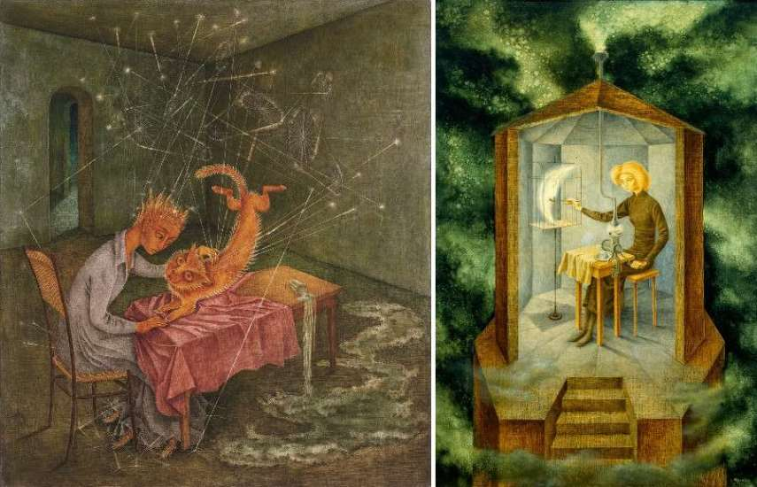 Left Remedios Varo - Icono Right Remedios Varo - Paraíso de los gatos