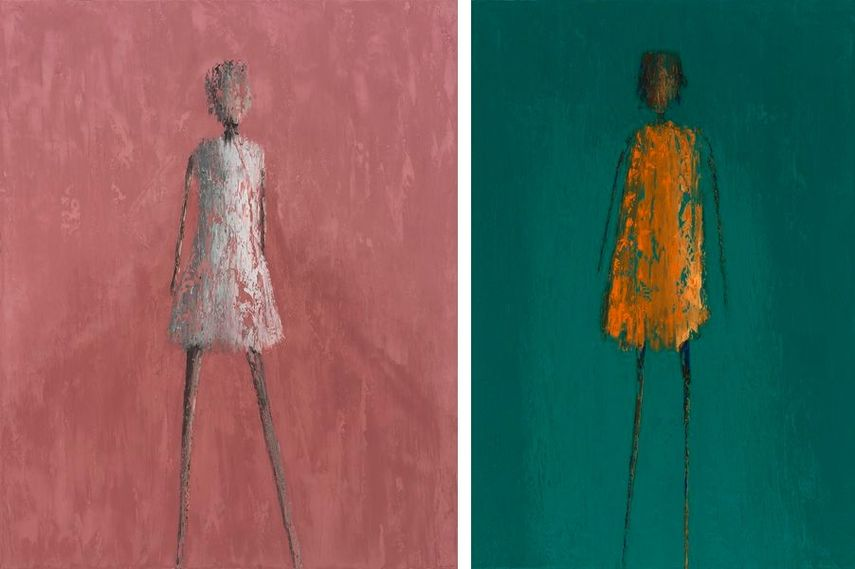 René Romero Schuler - Calyope, 2019, Sylvie Mangaud - Famke, 2019
