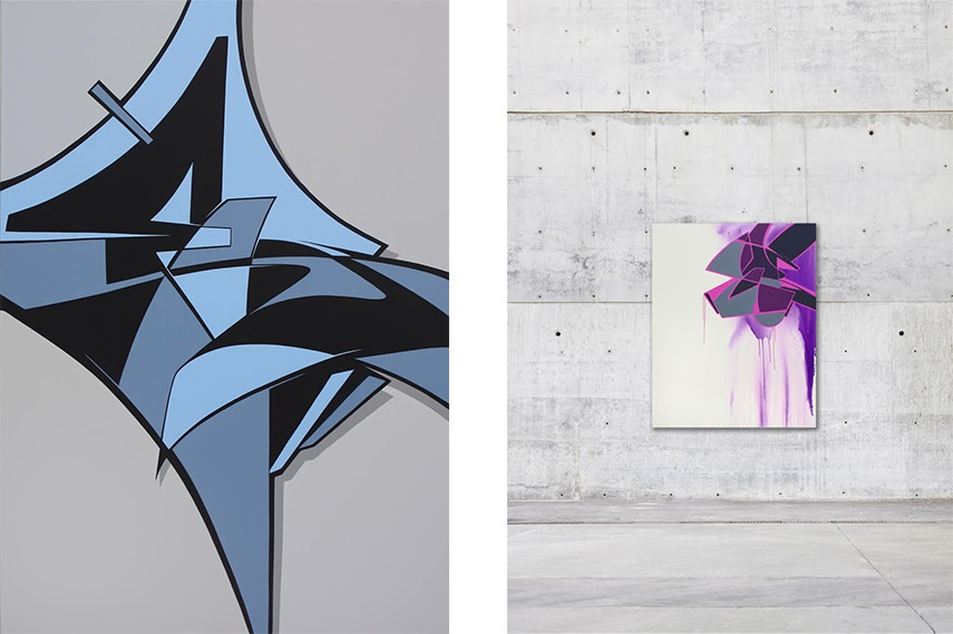 Left: Reso - Triborough Bridge, 2015 / Right: Reso - Ain´t no smoke, 2014