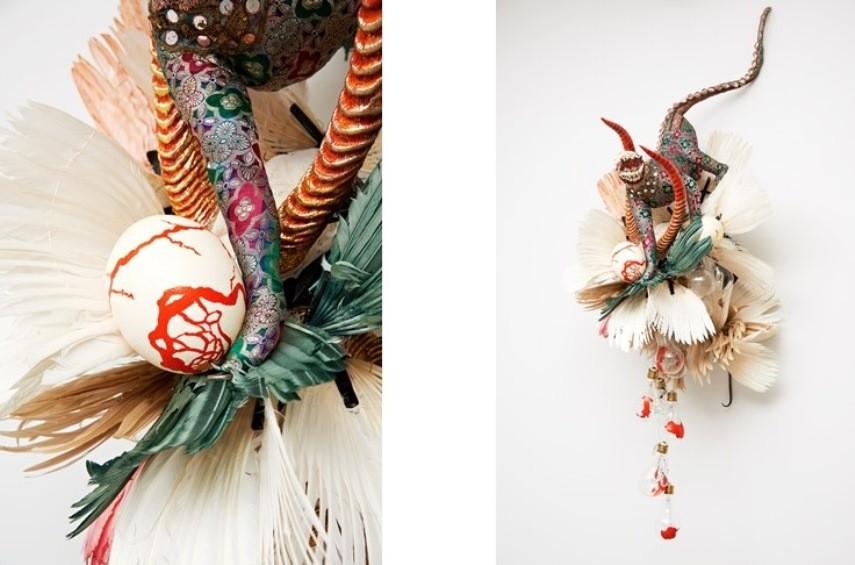Rina Banerjee at Jacob Lewis Gallery