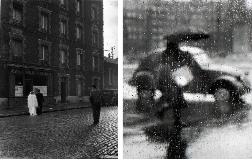 Robert Doisneau - La Stricte Intimite, Montrouge, 1945, Sabine Weiss - La 2CV, Paris, 1957