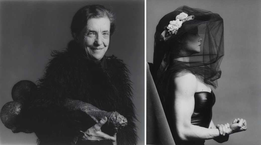 Left Robert Mapplethorpe - Louise Bourgeois Right Robert Mapplethorpe - Lisa Lyon