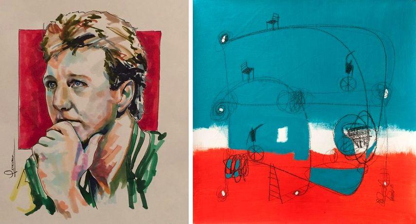 Robert Peterson - Larry Bird, Valenz - Sueño Bicolor