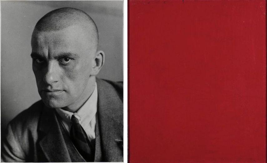 Alexandre Rodtchenko - Pur Rouge (du triptyque Couleur lisse), 1921