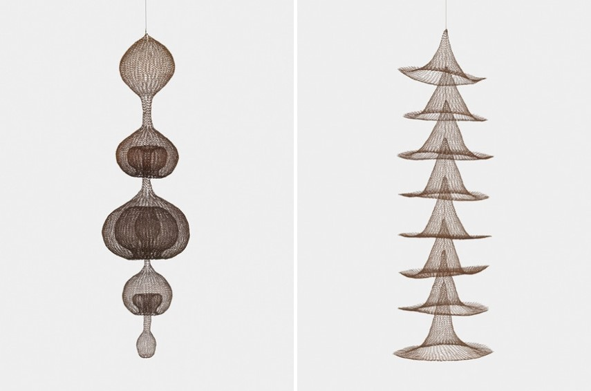 Left Ruth Asawa - Untitled Right Ruth Asawa - Untitled