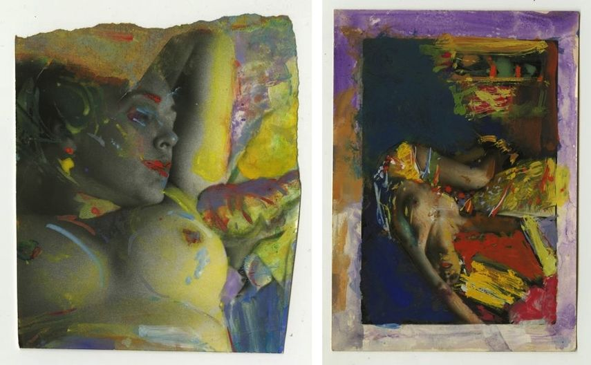 Three Decades of Saul Leiter's Studies of the Female Figure through his Nude Muses