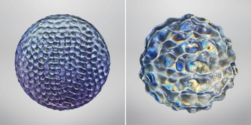 Resonance, Water Drop, 2016, The Kingdom – chromatic print format Mimesis Paris 2017