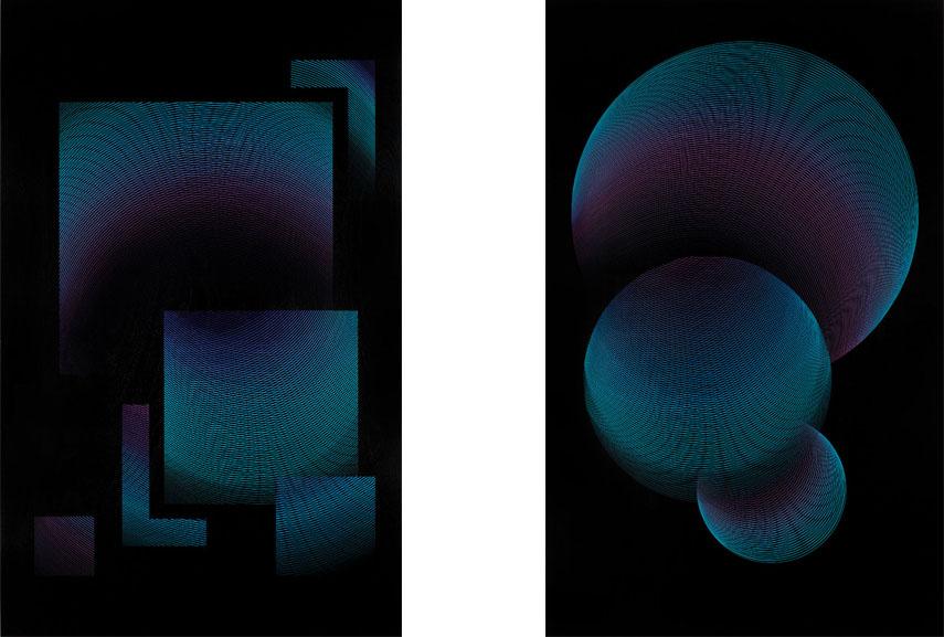 Variation, grafik, 2017