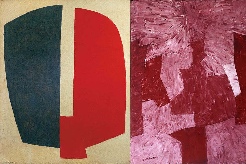 Serge Poliakoff exhibition cheim and read
