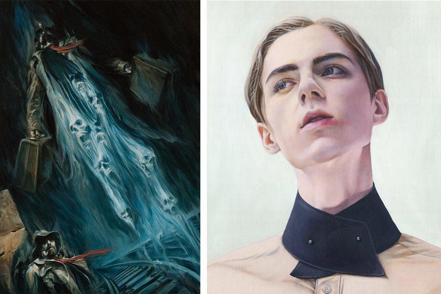 Left : Shane Pierce -Tokenkopf / Right : Kaspian Shore - Apparition
