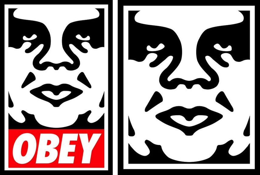 Obey Face 3 Series 2. 1996, Obey Icon, 1996