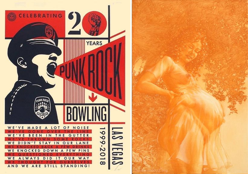 Left Shepard Fairey - Punk Rock Bowling Right Mode2 - Paienne