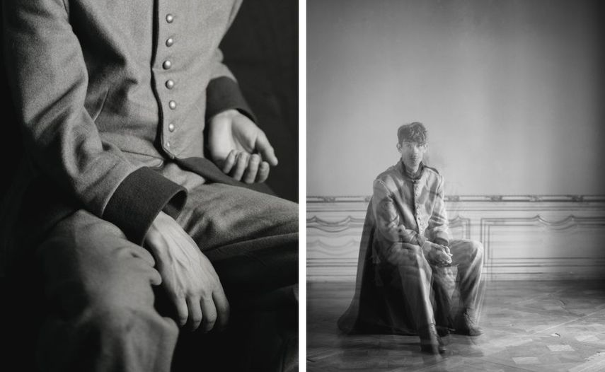 Left Some kind of night into your darkness 02A, 2016 © Tereza Zelenkova Right Some kind of night into your darkness, 2016 © Tereza Zelenkova