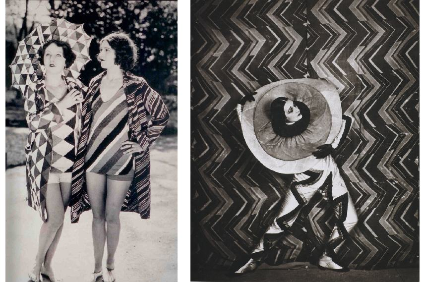 Sonia Delaunay was a leading Art Deco artist who collaborated with Dadaist artists