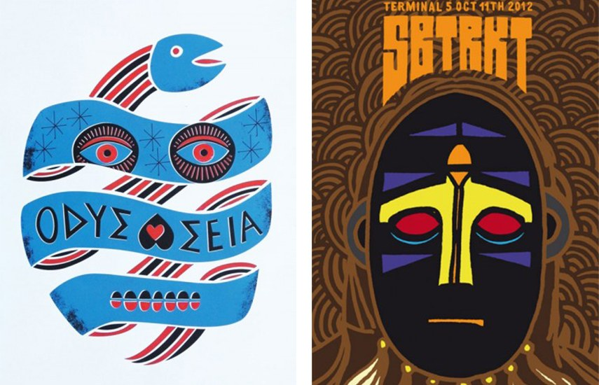 Left - SuperBlast - Space Odysesey, 2011 - Right - SuperBlast - SBTRKT - NYC, 2012 home terms account policy know help service video news privacy shop lush lush