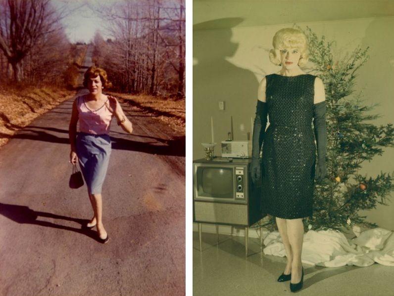 Susanna at Casa Susanna in 1964, Gloria at Casa Susanna in 1965