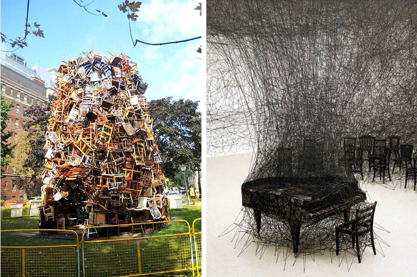 What is installation art and how do we interact with the installations