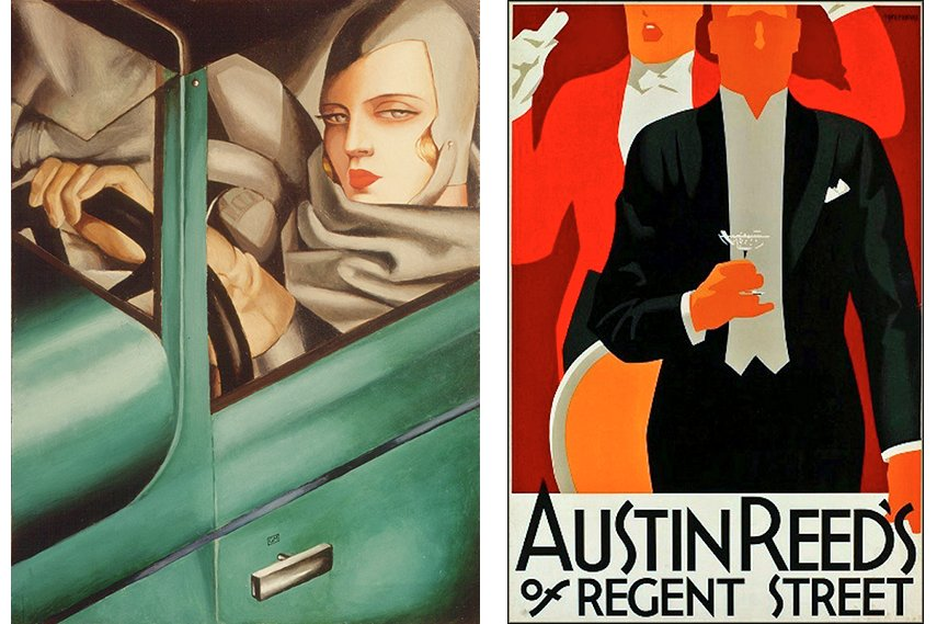 Art deco artists