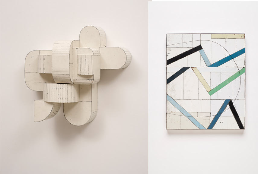 Left Ted Larsen - New Routine, 2015 Right Ted Larsen - Anarchy Rules, 2019