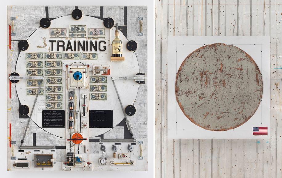 Left Tom Sachs -Training Right Tom Sachs - Moon