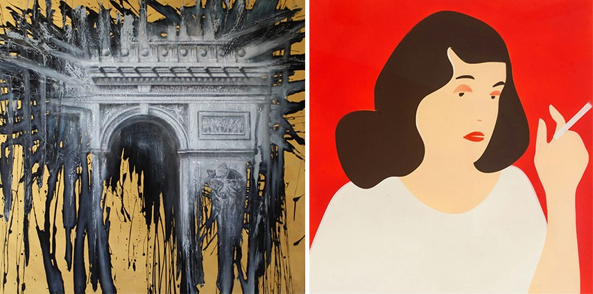 Left: Tommaso Bet - Untitled - Courtesy of Studio GR /  Right: Alexandra Barth - Untitled - Courtesy of DUB Gallery