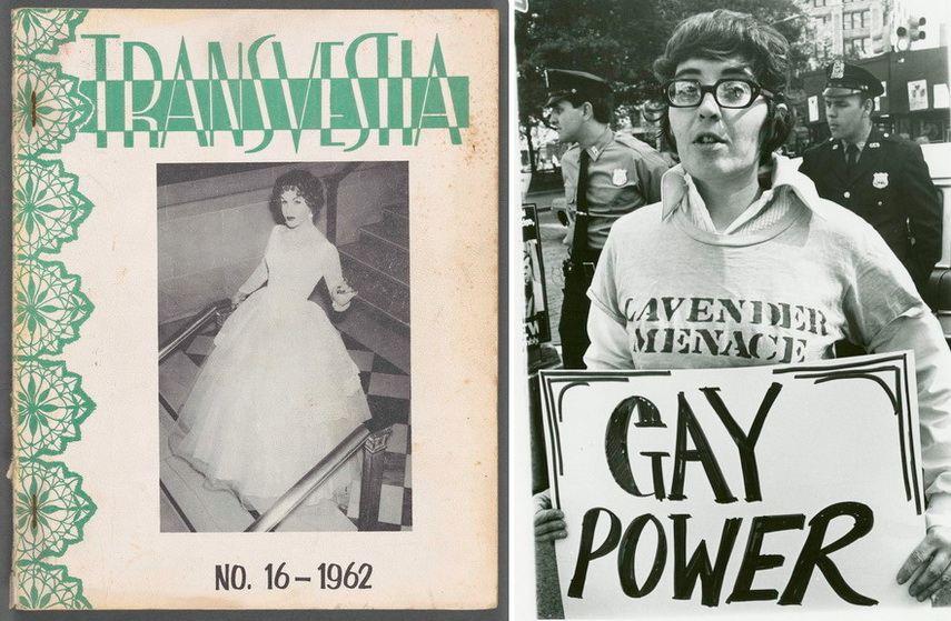 Left Transvestia Right Diana Davies Ida