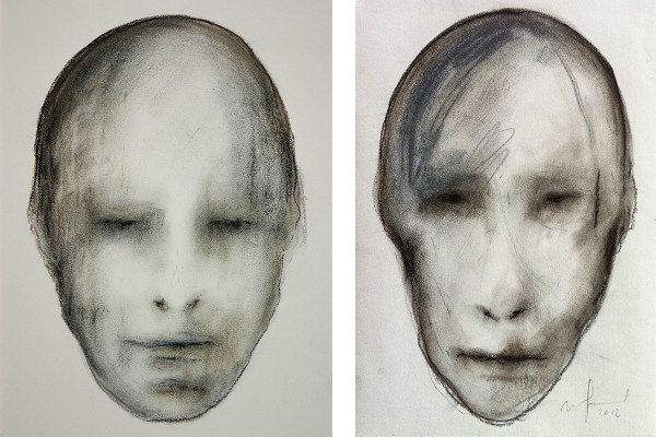 Left Ugo Giletta - Untitled, 2014, Right Ugo Giletta - Untitled, 2012