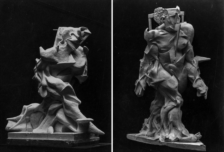 Umberto Boccioni - Synthesis of Human Dynamism, Speeding Muscles