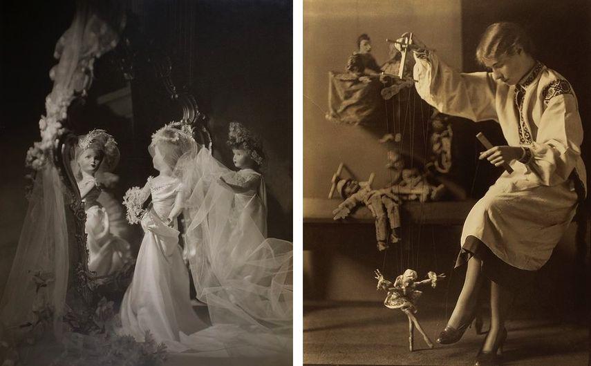 Violet Keene Perinchief - Dolls, circa 1940, Violet Keene Perinchief - Marionettes, 1930