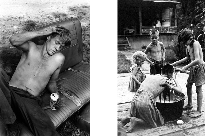 Left: William Gedney - Kentucky, 1972 / Right: William Gedney, Kentucky, 1964