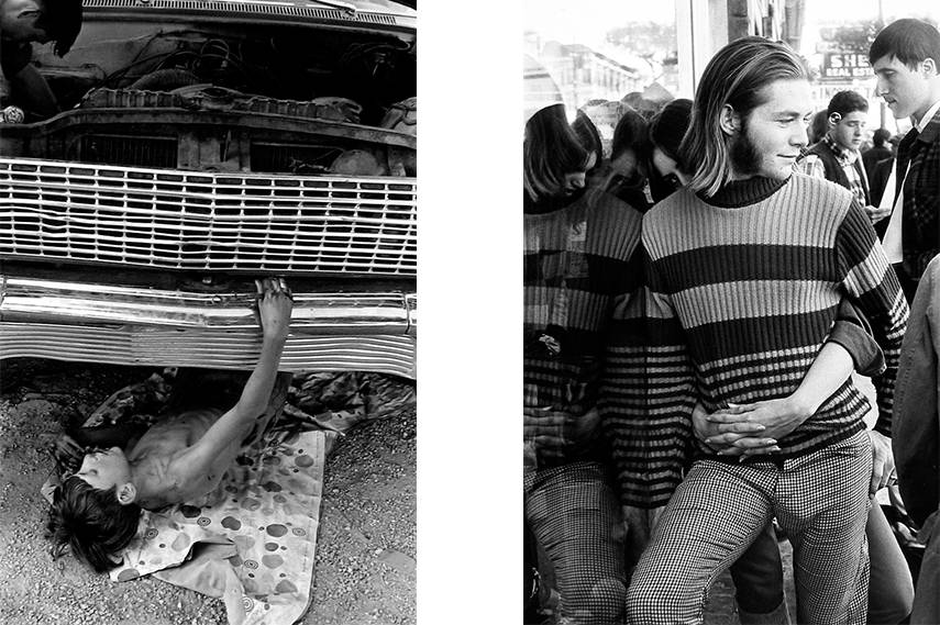 Left: William Gedney - Kentucky, 1972 / Right: William Gedney - San Francisco, 1967