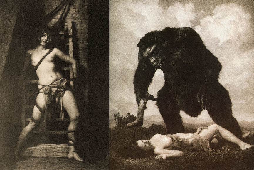 Left William Mortensen - Spider Right William Mortensen - Amour