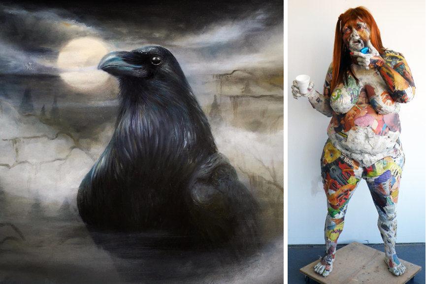 Left : Yomico Moreno - Nevermore / Right : Will Kurtz - Adorra