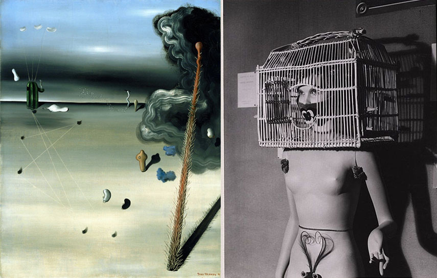 like dada, surrealism artist also worked in paris