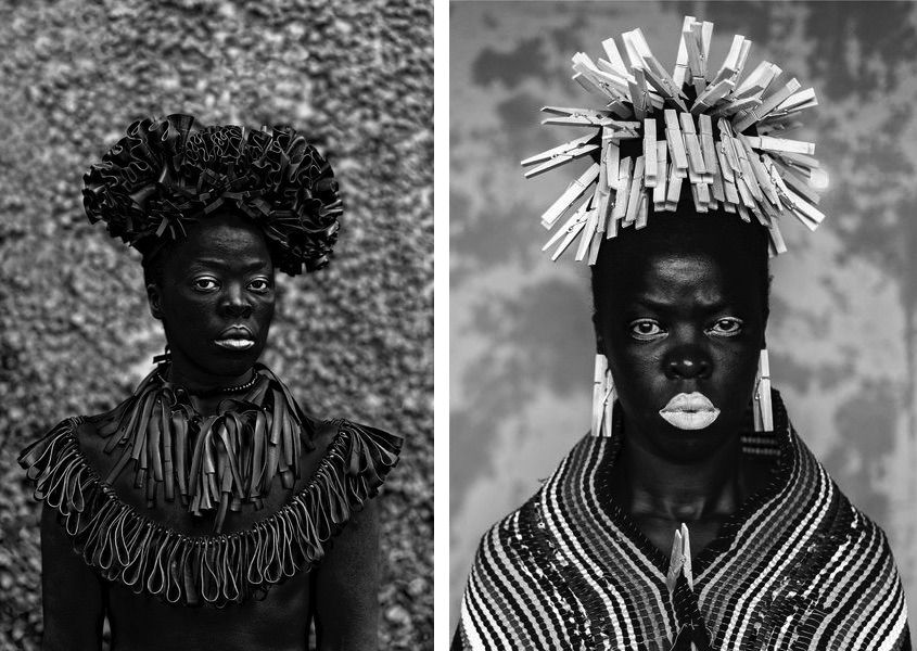 Hlonipha, Cassilhaus, Chapel Hill, North Carolina, 2016, Bester I, Mayotte, 2015 © Zanele Muholi.