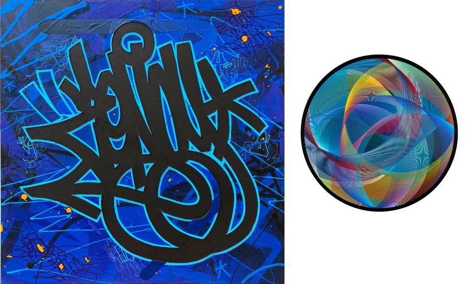 Left Zenoy - Black and blue - Incison Right Sebastien Preschoux - Focus