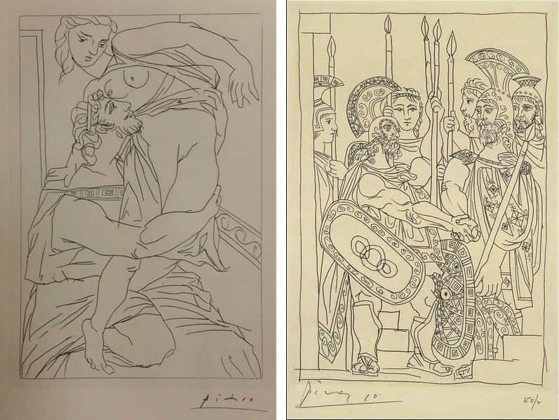 Aristophanes' Lysistrata, illustrated by Pablo Picasso, 1934