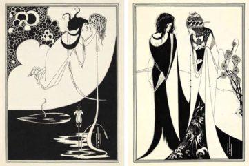 "Aubrey Beardsley's Illustrations for Oscar Wild's Play ""Salome"""