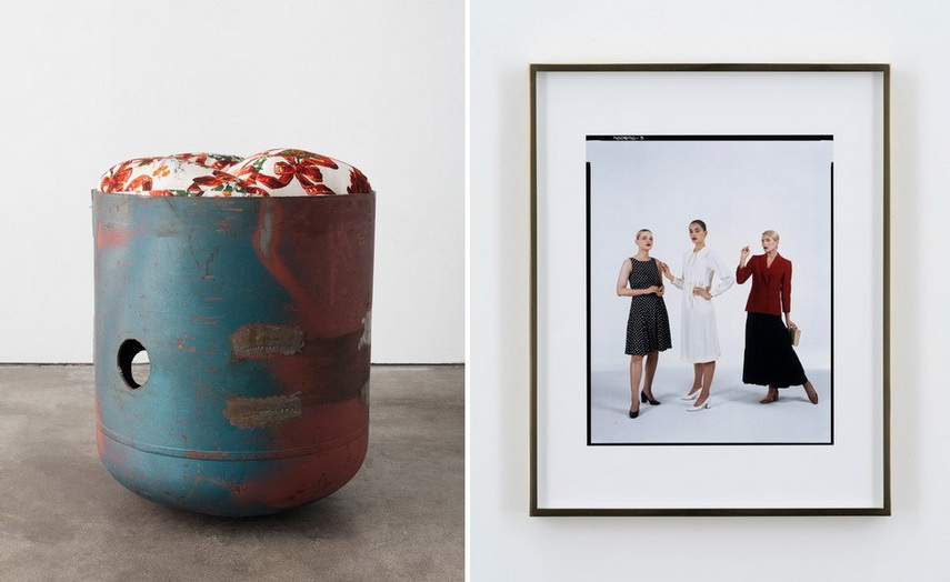 Left and Right Elad Lassry - Untitled