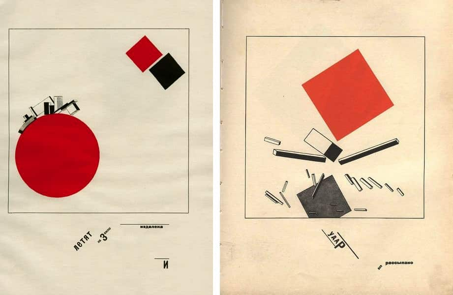 From El Lissitzky's About Two Squares