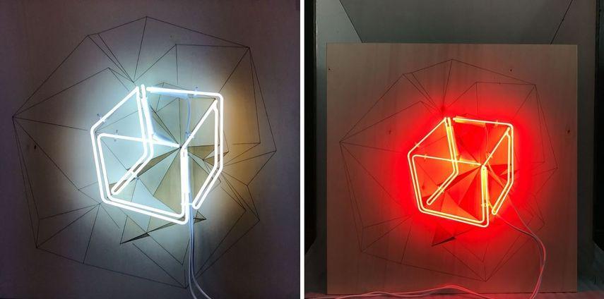 lighting installation presented studio lights design and sculpture