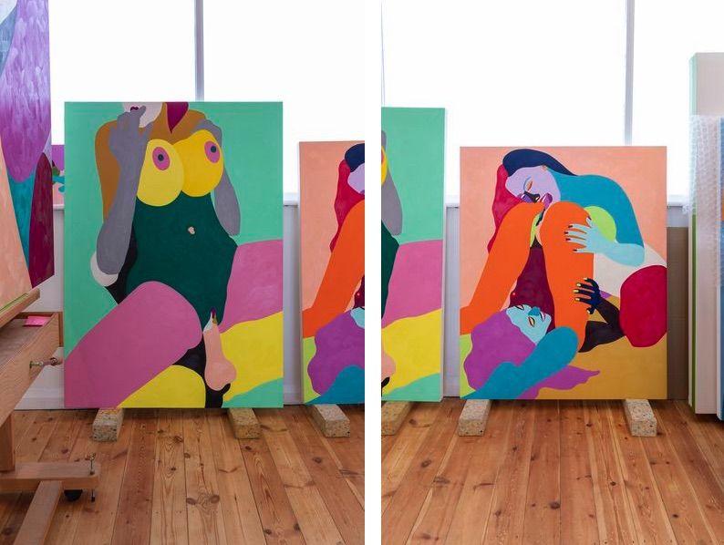 Helen Beard Studio. Credit Lucy Emms