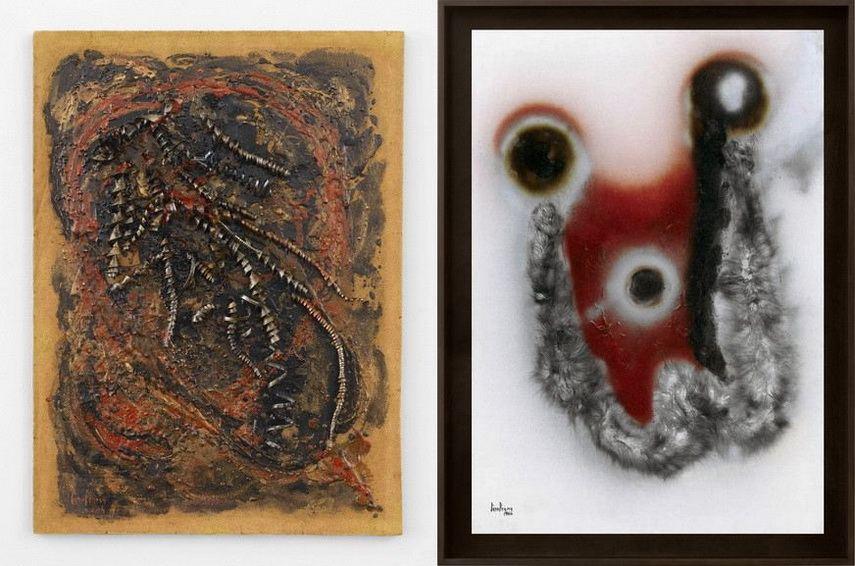 Left and Right Carol Rama - Bricolage