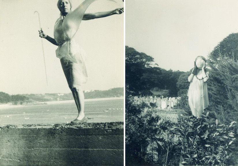 Left and Right Left Claude Cahun and Marcel Moore - Untitled