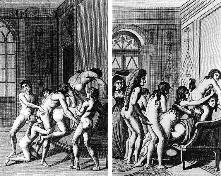 Marquis De Sade Illustrations