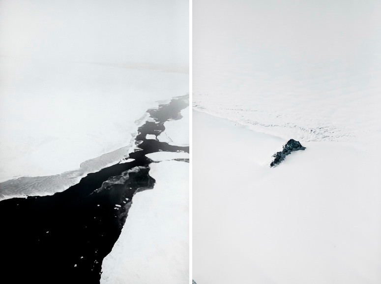 Left and Right Paolo Pellegrin - NASA IceBridge