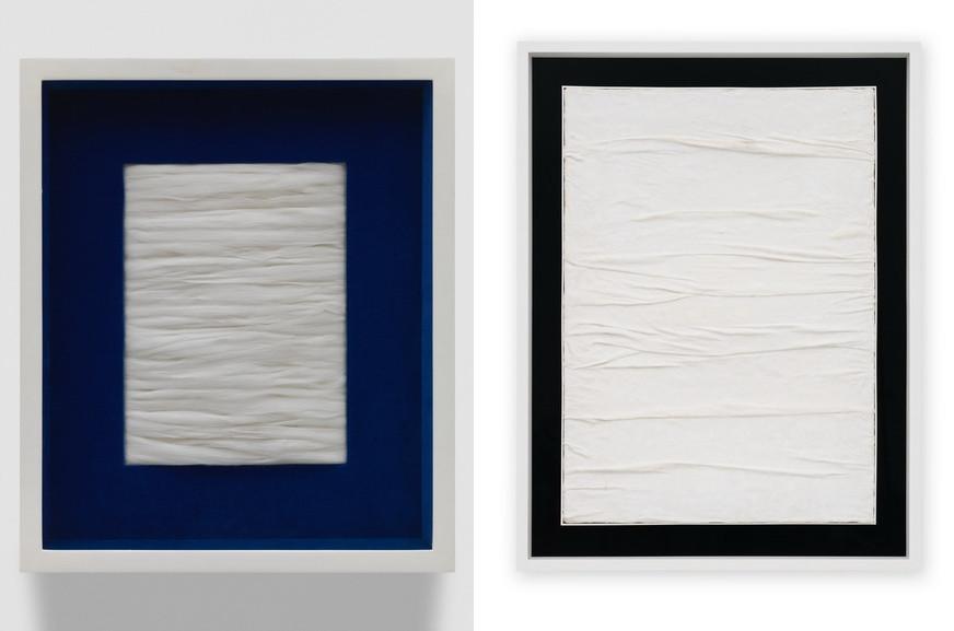 Left and Right Piero Manzoni – Achrome