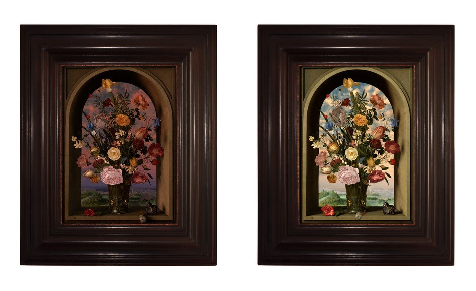 Left and Right Rob and Nick Carter - Transforming Still Life Painting