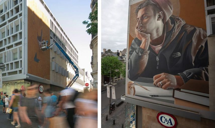 Smug murals in Antwerp 2018